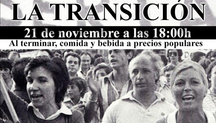 CHARLA SOBRE EL PAPEL DE LA MUJER EN LA TRANSICIÓN