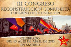 Cartel del congreso de RC