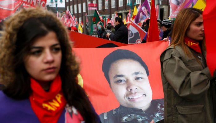Manifestación Ivana Hoffman Honor