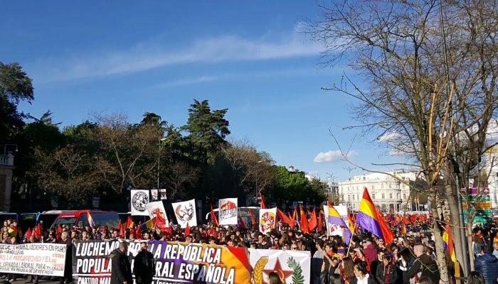 [CRÓNICA] 14 Abril: Por La República Popular Y Federal Española