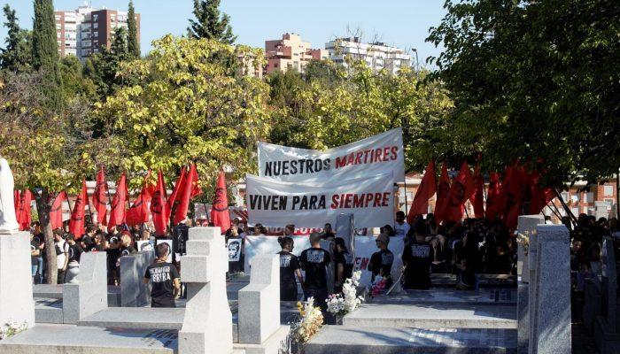 Discurso De Roberto Vaquero En El Homenaje A Los últimos Fusilados Del Franquismo.