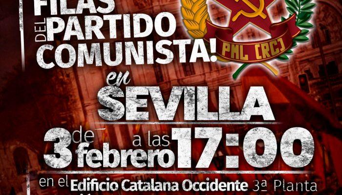 Reconstrucción Comunista En Sevilla. Irreductibles.