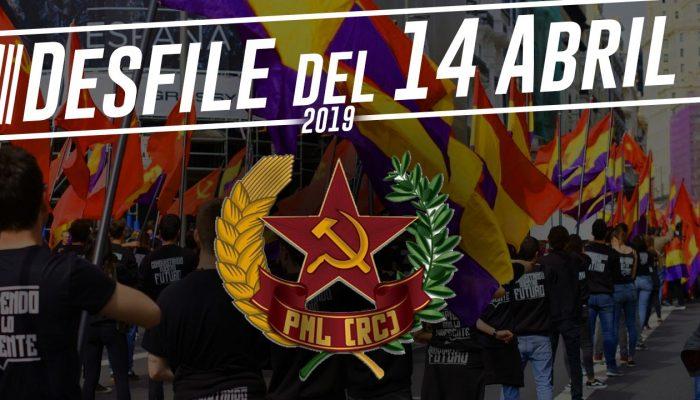 [Vídeo] Desfile Del 14 De Abril De 2019