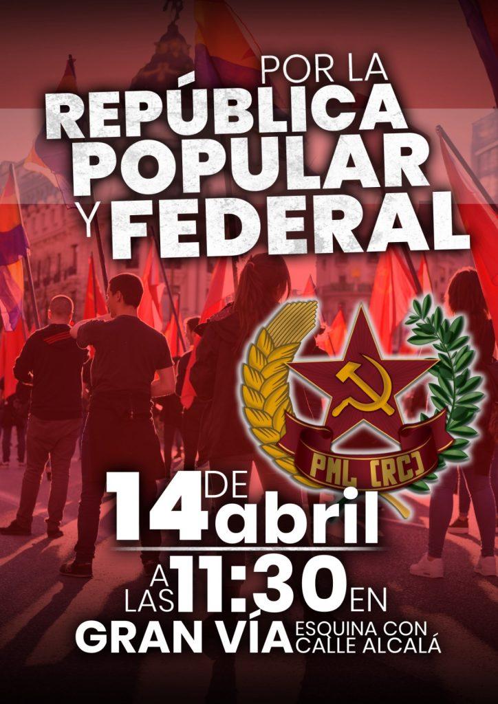 manifestación república