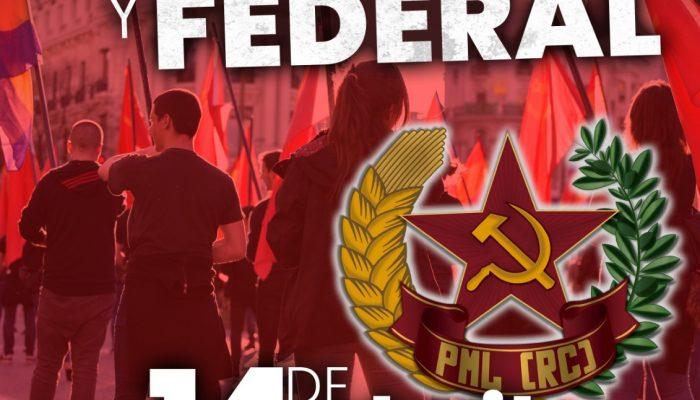 [ Manifestación República ] – DESFILE 14 De Abril.