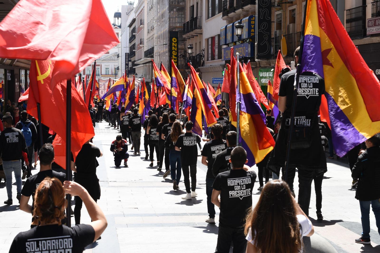 reconstrucción comunista 14 abril