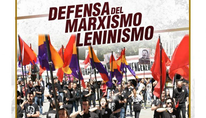 DEFENSA DEL MARXISMO-LENINISMO