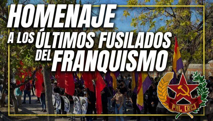 VIDEO – Homenaje A Los últimos Fusilados Del Franquismo